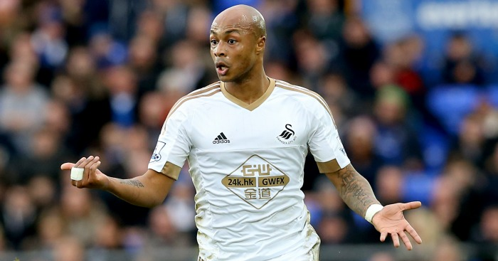 Andre Ayew: Impressive against Liverpool