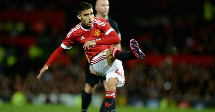 Andreas Pereira: Midfielder scored on first start for United