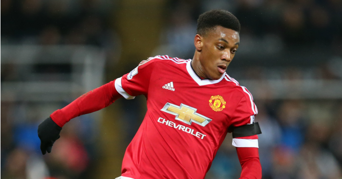 Anthony Martial: Forward made big-money switch in August