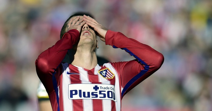 Antoine Griezmann: Missed Atletico's best chance against Sevilla