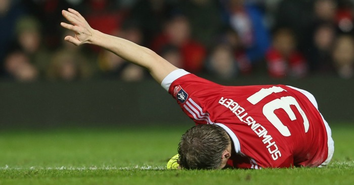 Bastian Schweinsteiger: Unlikely to play again this season