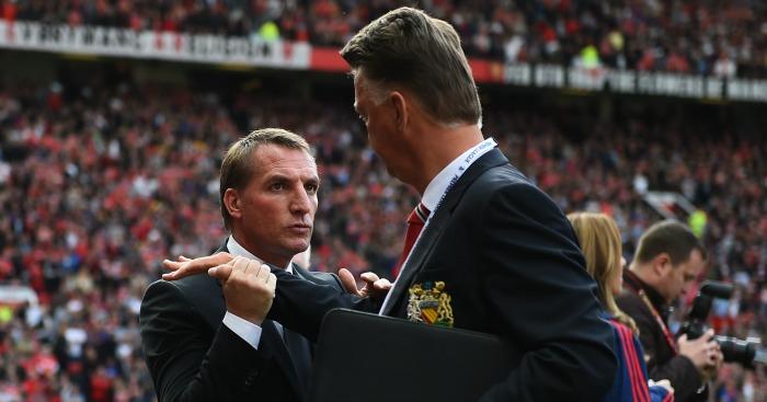 Brendan Rodgers: Speaks up for old foe Louis van Gaal