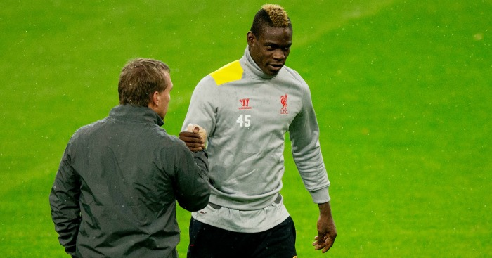 Brendan Rodgers: Took a chance on Mario Balotelli at Liverpool