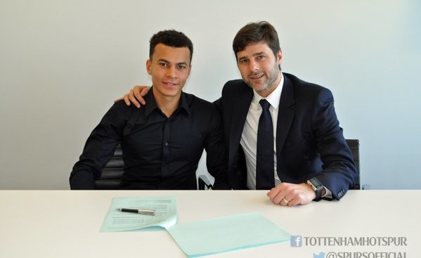 Dele Alli: Signs new deal at Spurs