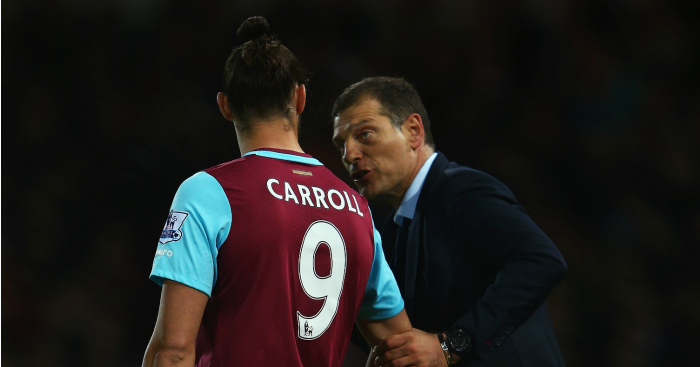 Andy Carroll & Slaven Bilic: Boss expecting more of the same