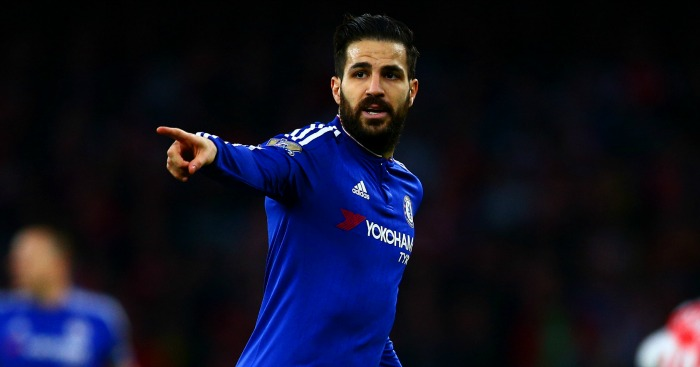 Cesc Fabregas: Targeted by Italian giants