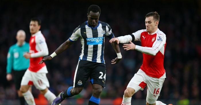 Cheick Tiote: Midfielder has been at Newcastle since 2010