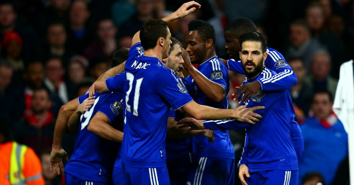 Chelsea: Won at Arsenal in rare Power Rankings success
