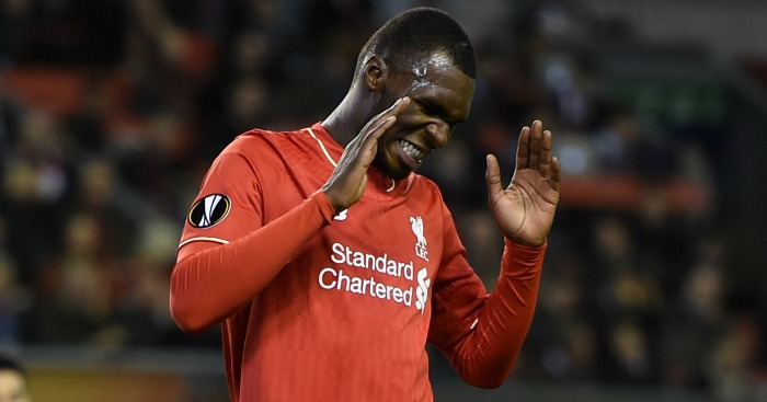Christian Benteke: Considering his future at Anfield.