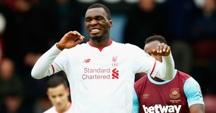 Christian Benteke: Failed to impress in Liverpool's defeat at West Ham