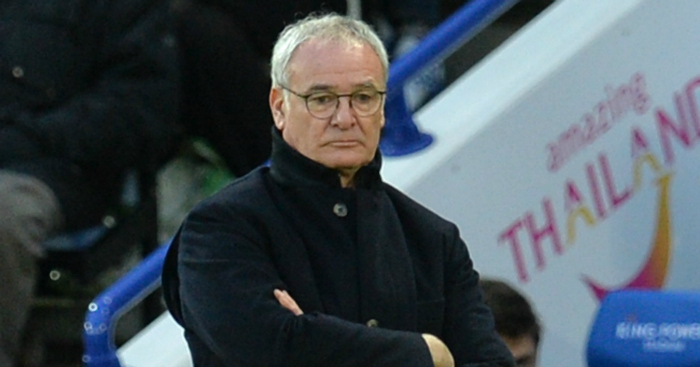 Claudio Ranieri: Frustrated by draw against Bournemouth