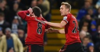 Craig Gardner: Celebrates scoring for West Brom at Chelsea