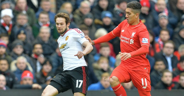Daley Blind: Challenged by Roberto Firmino