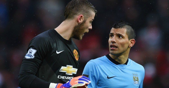 David de Gea and Sergio Aguero: Linked with Real Madrid