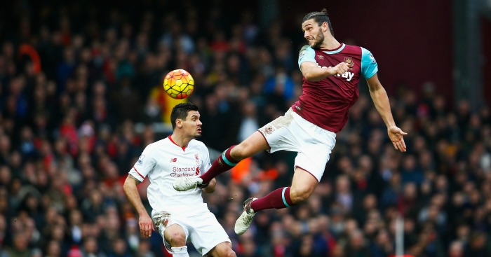 Dejan Lovren: Defender fails to stop Andy Carroll header