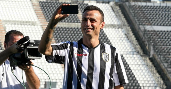 Dimitar Berbatov: Denied claims he no longer wants to play for PAOK
