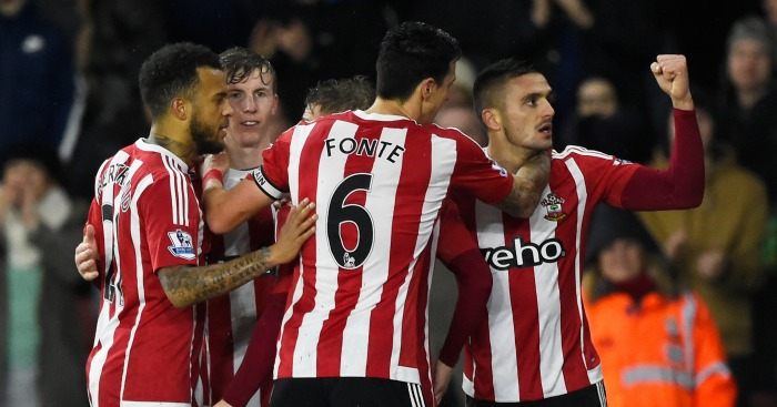 Southampton: Celebrate Dusan Tadic's goal against Watford