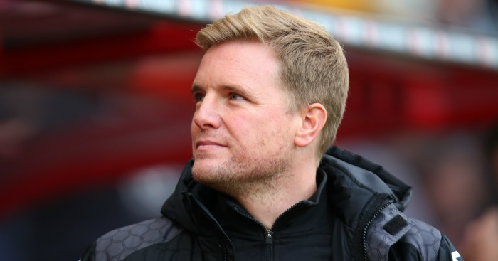 Eddie Howe: Insists he's loyal to Bournemouth