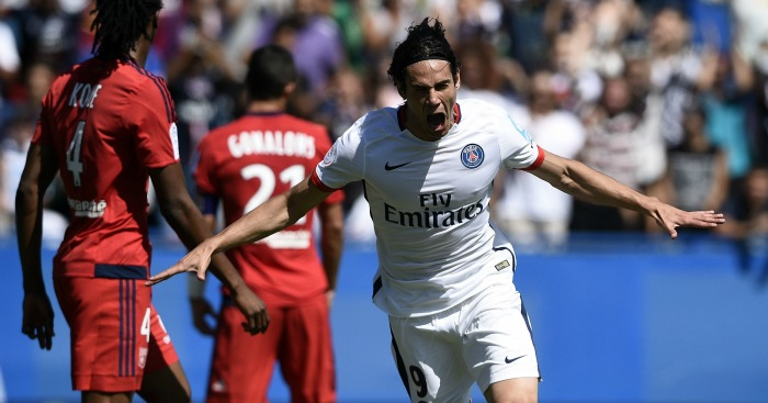 Edinson Cavani: Forward chased by host of top clubs