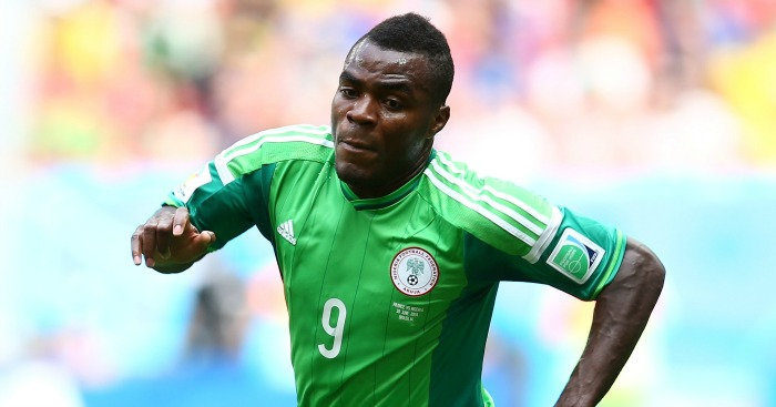 Emmanuel Emenike: Linked with West Ham switch