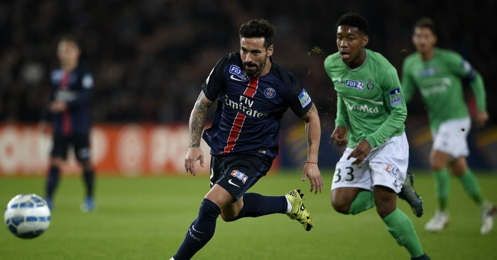 Ezequiel Lavezzi: Forward out of contract in the summer