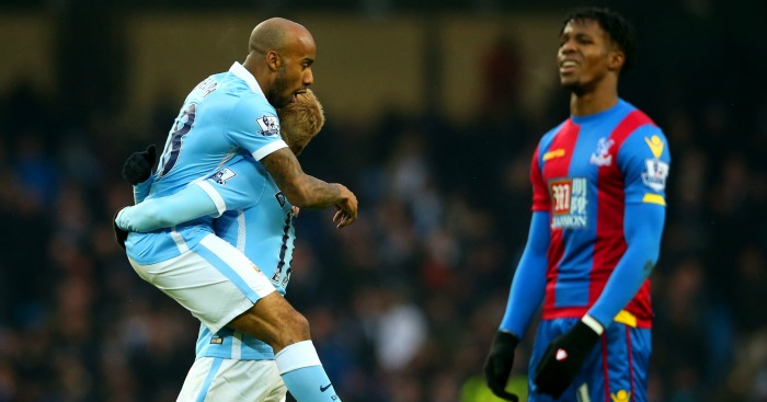 Fabian Delph: Put Manchester City ahead against Crystal Palace