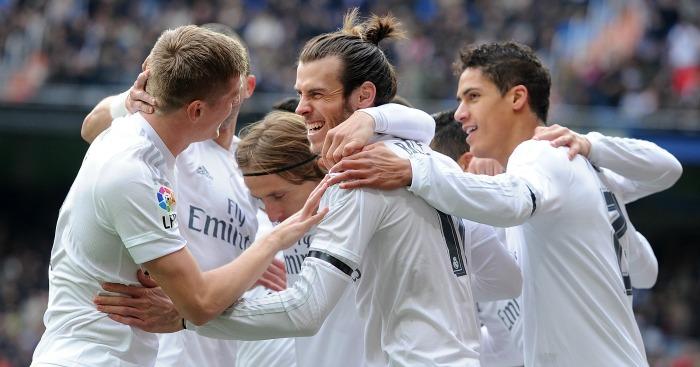 Gareth Bale: Scored in Real Madrid's win over Sporting Gijon