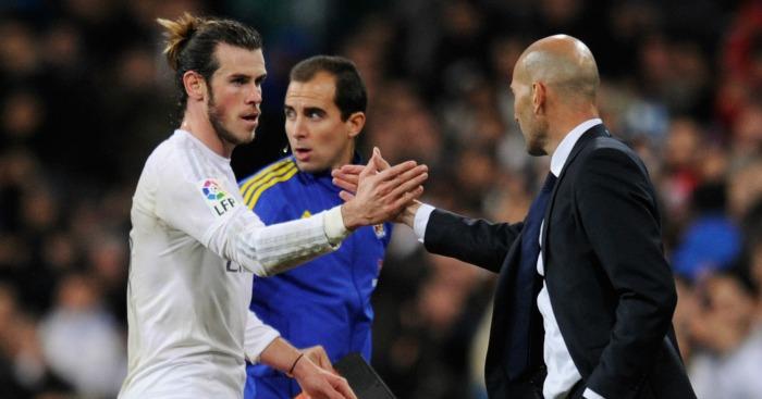 Gareth Bale: Hat-trick in Zinedine Zidane's first Real Madrid game