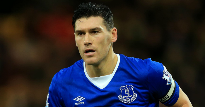Gareth Barry: Has covered lots of ground for Everton this season