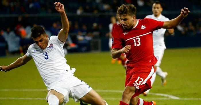 Matt Miazga (left): Branded the 'best defender in the MLS'