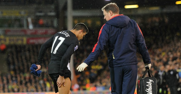 Alexis Sanchez: Sidelined since November with hamstring injury