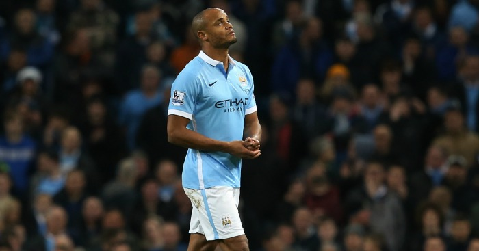 Vincent Kompany: Made only 12 appearances this season