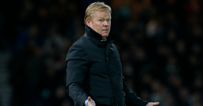 Ronald Koeman: Joked at Messi signing