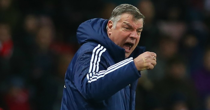 "Sam Allardyce: Admits Sunderland ""can't afford"" to be relegated"