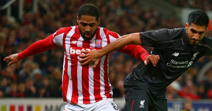"Glen Johnson: Stoke will be ""right in there"" at Anfield"