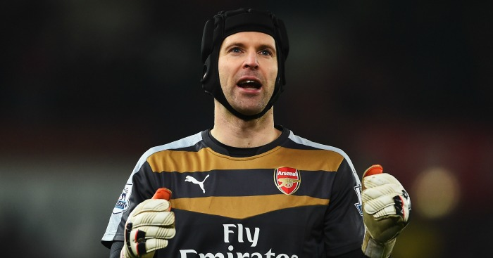 Petr Cech: Arsenal goalkeeper could return against Crystal Palace