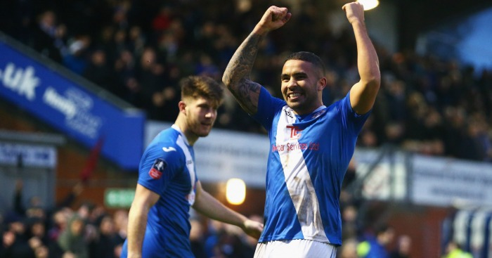 Jai Reason: Celebrates for Eastleigh