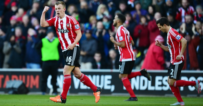 James Ward-Prowse Southampton celebration
