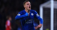 Jamie Vardy: Subject of an offer from Arsenal