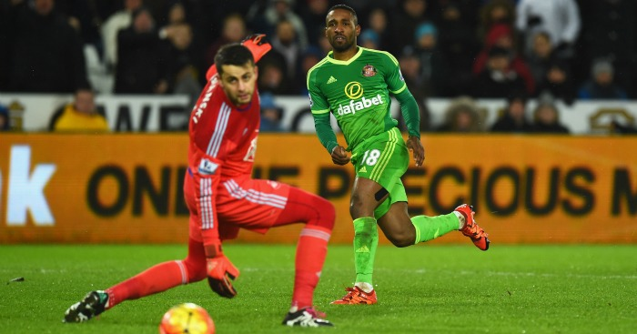 Jermain Defoe: Striker netted hat-trick in win at Swansea