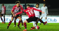 Jerome Sinclair: Equalises at Exeter