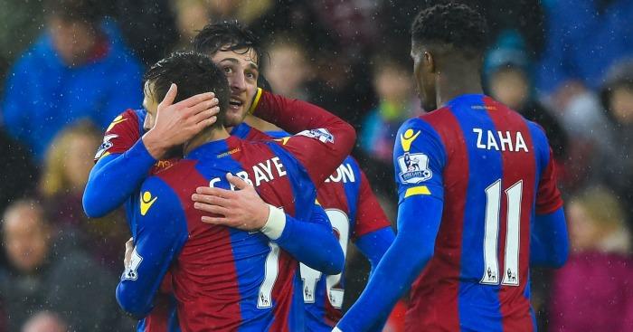 Crystal Palace: Celebrate Joel Ward's opener