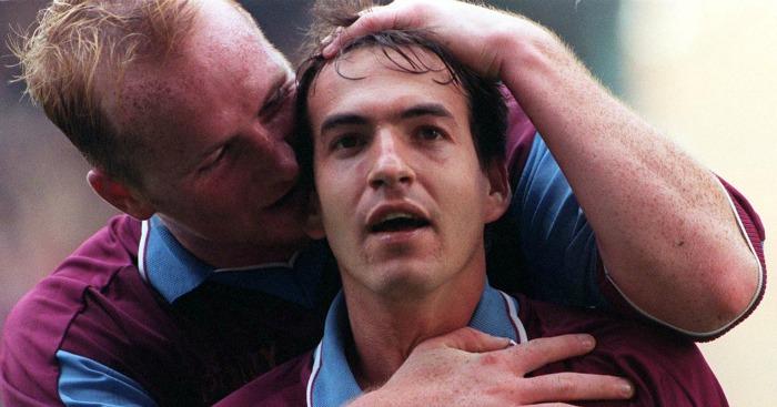 John Hartson & Eyal Berkovic: In happier times at West Ham