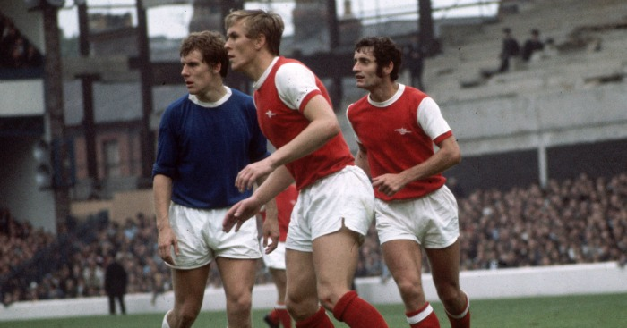 John Roberts: In action for Arsenal in January 1970