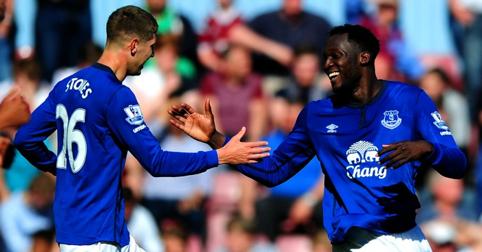 John Stones and Romelu Lukaku: Everton's crown jewels