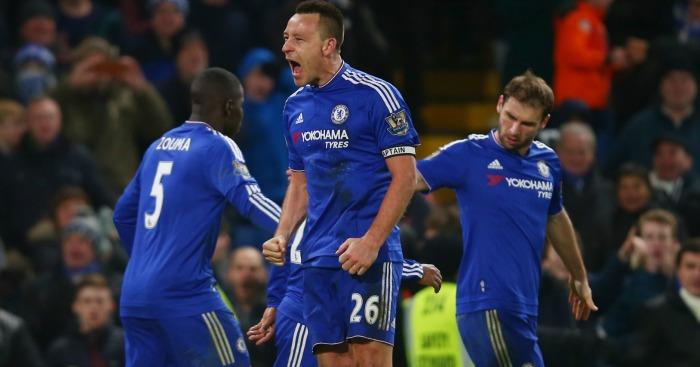 John Terry Chelsea v Everton