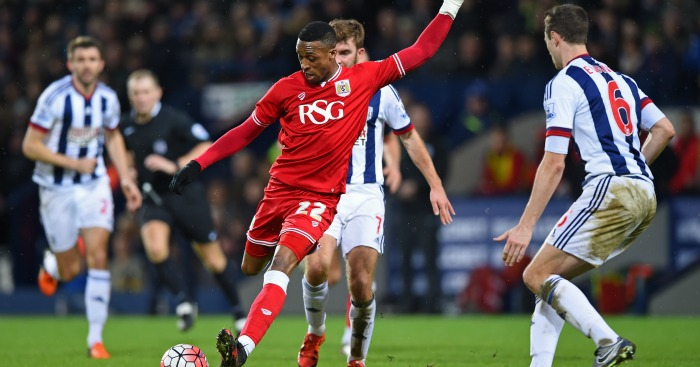 Jonathan Kodjia: Fires in a shot against West Brom