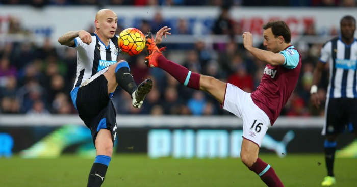 Jonjo Shelvey Mark Noble