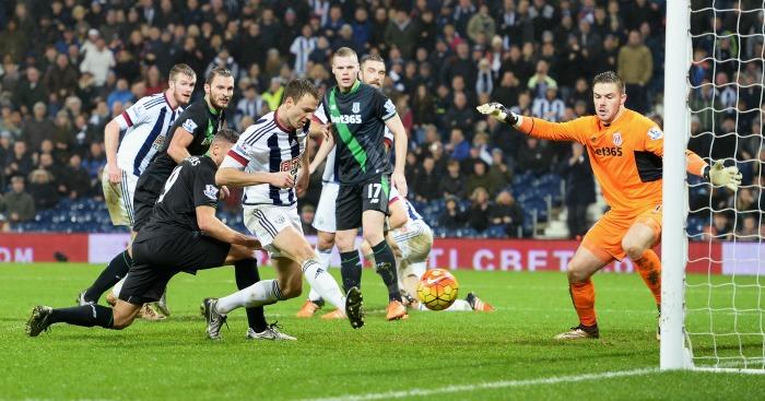 Jonny Evans: Scored West Brom's winner against Stoke City