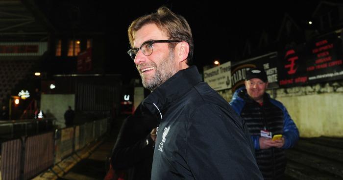 Jurgen Klopp: Liverpool boss happy with English food
